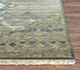 Jaipur Rugs - Hand Knotted Wool and Bamboo Silk Green LES-195 Area Rug Cornershot - RUG1072354