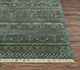 Jaipur Rugs - Hand Knotted Wool and Bamboo Silk Green LES-196 Area Rug Cornershot - RUG1072350