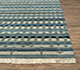 Jaipur Rugs - Hand Knotted Wool and Bamboo Silk Blue LES-201 Area Rug Cornershot - RUG1072999