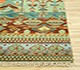 Jaipur Rugs - Hand Knotted Wool and Bamboo Silk Beige and Brown LES-233 Area Rug Cornershot - RUG1077899
