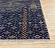 Jaipur Rugs - Hand Knotted Wool and Bamboo Silk Blue LES-275 Area Rug Cornershot - RUG1083968