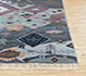 Jaipur Rugs - Hand Knotted Wool and Bamboo Silk Blue LES-277 Area Rug Cornershot - RUG1084013