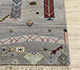 Jaipur Rugs - Hand Knotted Wool and Bamboo Silk Grey and Black LES-307 Area Rug Cornershot - RUG1085876