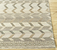 Jaipur Rugs - Hand Knotted Wool and Bamboo Silk Ivory LES-336 Area Rug Cornershot - RUG1087779