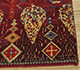 Jaipur Rugs - Hand Knotted Wool and Bamboo Silk Red and Orange LES-389 Area Rug Cornershot - RUG1091228