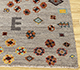 Jaipur Rugs - Hand Knotted Wool and Bamboo Silk Grey and Black LES-449 Area Rug Cornershot - RUG1092467