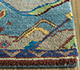 Jaipur Rugs - Hand Knotted Wool and Bamboo Silk Blue LES-457 Area Rug Cornershot - RUG1092466
