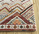 Jaipur Rugs - Hand Knotted Wool and Bamboo Silk Ivory LES-483 Area Rug Cornershot - RUG1093573