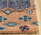 Jaipur Rugs - Hand Knotted Wool and Bamboo Silk Multi LES-488 Area Rug Cornershot - RUG1093560