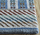 Jaipur Rugs - Hand Knotted Wool and Bamboo Silk Blue LES-511 Area Rug Cornershot - RUG1093919