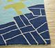 Jaipur Rugs - Hand Tufted Wool Blue LET-1596 Area Rug Cornershot - RUG1084700