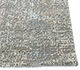 Jaipur Rugs - Hand Knotted Wool and Bamboo Silk Grey and Black LRB-1502 Area Rug Cornershot - RUG1086288