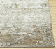 Jaipur Rugs - Hand Knotted Wool and Bamboo Silk Beige and Brown LU-9032 Area Rug Cornershot - RUG1082833