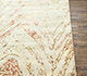 Jaipur Rugs - Hand Knotted Wool and Bamboo Silk Ivory LU-9033 Area Rug Cornershot - RUG1080517