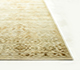 Jaipur Rugs - Hand Knotted Wool and Silk Beige and Brown NE-2348 Area Rug Cornershot - RUG1049830