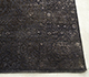 Jaipur Rugs - Hand Knotted Wool and Silk Grey and Black NE-2348 Area Rug Cornershot - RUG1098916
