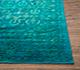 Jaipur Rugs - Hand Knotted Wool and Silk Blue NE-2348 Area Rug Cornershot - RUG1063440