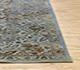 Jaipur Rugs - Hand Knotted Wool and Silk Blue NE-2349 Area Rug Cornershot - RUG1105167