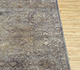 Jaipur Rugs - Hand Knotted Wool and Silk Grey and Black NE-2364 Area Rug Cornershot - RUG1081745
