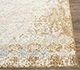 Jaipur Rugs - Hand Knotted Wool and Silk Ivory NMS-09 Area Rug Cornershot - RUG1074489