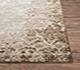 Jaipur Rugs - Hand Knotted Wool and Silk Grey and Black NMS-09 Area Rug Cornershot - RUG1074492