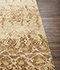 Jaipur Rugs - Hand Knotted Wool and Silk Beige and Brown NMS-15 Area Rug Cornershot - RUG1078224