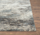 Jaipur Rugs - Hand Knotted Wool and Silk Grey and Black NRA-202 Area Rug Cornershot - RUG1082413