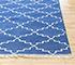 Jaipur Rugs - Flat Weave Cotton Blue PDCT-70 Area Rug Cornershot - RUG1086758