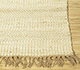 Jaipur Rugs - Flat Weave Jute Ivory PDJT-198 Area Rug Cornershot - RUG1094932