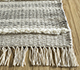 Jaipur Rugs - Flat Weave Synthetic Fiber Beige and Brown PDPL-39 Area Rug Cornershot - RUG1098161