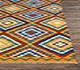 Jaipur Rugs - Flat Weaves Wool Red and Orange PDWL-295 Area Rug Cornershot - RUG1075476