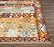 Jaipur Rugs - Flat Weaves Wool Red and Orange PDWL-298 Area Rug Cornershot - RUG1078413