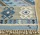 Jaipur Rugs - Flat Weaves Wool Blue PDWL-353 Area Rug Cornershot - RUG1098474