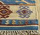 Jaipur Rugs - Flat Weave Wool Blue PDWL-353 Area Rug Cornershot - RUG1098476