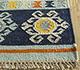 Jaipur Rugs - Flat Weave Wool Red and Orange PDWL-356 Area Rug Cornershot - RUG1098479