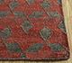 Jaipur Rugs - Flat Weave Wool Red and Orange PDWL-444 Area Rug Cornershot - RUG1098487