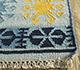 Jaipur Rugs - Flat Weave Wool Blue PDWL-445 Area Rug Cornershot - RUG1098489