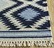 Jaipur Rugs - Flat Weave Wool Blue PDWL-448 Area Rug Cornershot - RUG1098492