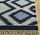 Jaipur Rugs - Flat Weaves Wool Blue PDWL-449 Area Rug Cornershot - RUG1098493