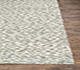 Jaipur Rugs - Flat Weave Wool and Viscose Ivory PDWV-23 Area Rug Cornershot - RUG1075486