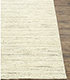 Jaipur Rugs - Hand Loom Wool Ivory PHWL-119 Area Rug Cornershot - RUG1077826