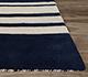 Jaipur Rugs - Hand Loom Wool Blue PHWL-76 Area Rug Cornershot - RUG1060911