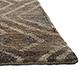 Jaipur Rugs - Hand Knotted Hemp Beige and Brown PIHM-12 Area Rug Cornershot - RUG1066823