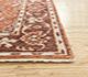 Jaipur Rugs - Hand Knotted Wool Red and Orange PKWL-410 Area Rug Cornershot - RUG1078172