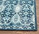 Jaipur Rugs - Hand Knotted Wool Blue PKWL-5108 Area Rug Cornershot - RUG1074973