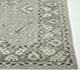 Jaipur Rugs - Hand Knotted Wool Grey and Black PKWL-6202 Area Rug Cornershot - RUG1049632