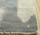 Jaipur Rugs - Hand Knotted Wool and Silk Grey and Black PKWS-485 Area Rug Cornershot - RUG1110921