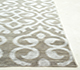 Jaipur Rugs - Hand Knotted Wool and Viscose Grey and Black PKWV-11 Area Rug Cornershot - RUG1064939