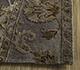 Jaipur Rugs - Patchwork Wool and Silk Grey and Black PSK-952 Area Rug Cornershot - RUG1091924