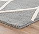 Jaipur Rugs - Hand Tufted Wool Grey and Black PTWL-76 Area Rug Cornershot - RUG1059465